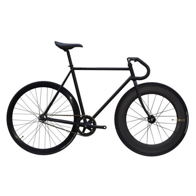 【CARTELBIKES カーテルバイク】 AVENUE MAT AVENUE DINER FRONT 88mm CARBON WHEEL  カスタム完成車