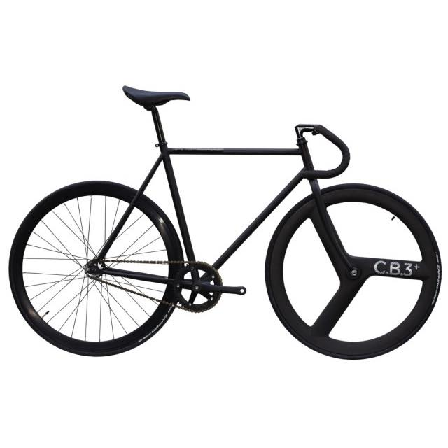 【CARTELBIKES カーテルバイク】 AVENUE MAT AVENUE FRONT C.B.3 PLUS CARBON WHEEL  カスタム完成車