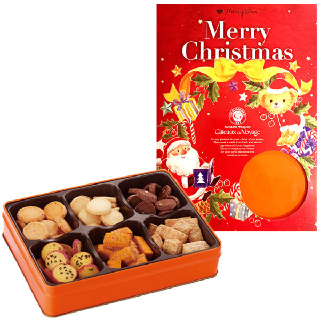 Xmas限定 フールセック缶(6種入り)クリスマス限定パッケージ