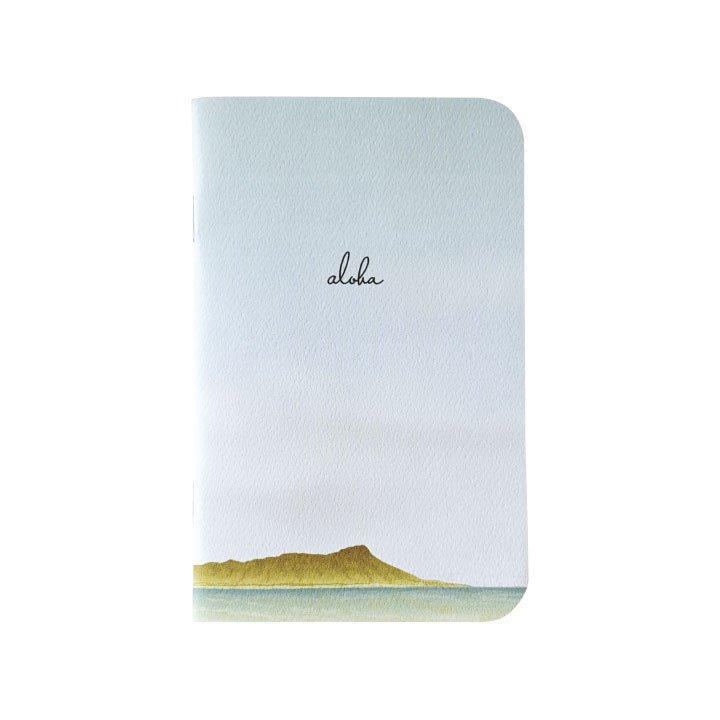 Diamond Head Mini Notebook
