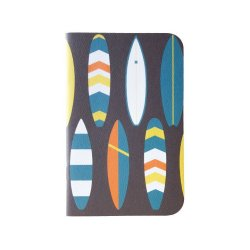 Bold Surfboard Mini Notebook