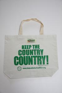 Keep the Country Country エコバッグ