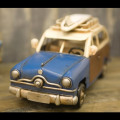 ★【VINTAGE CAR Woody Wagon】★レトロ調 ヴィンテージカー★ ビンテージカー ウッディワゴン★