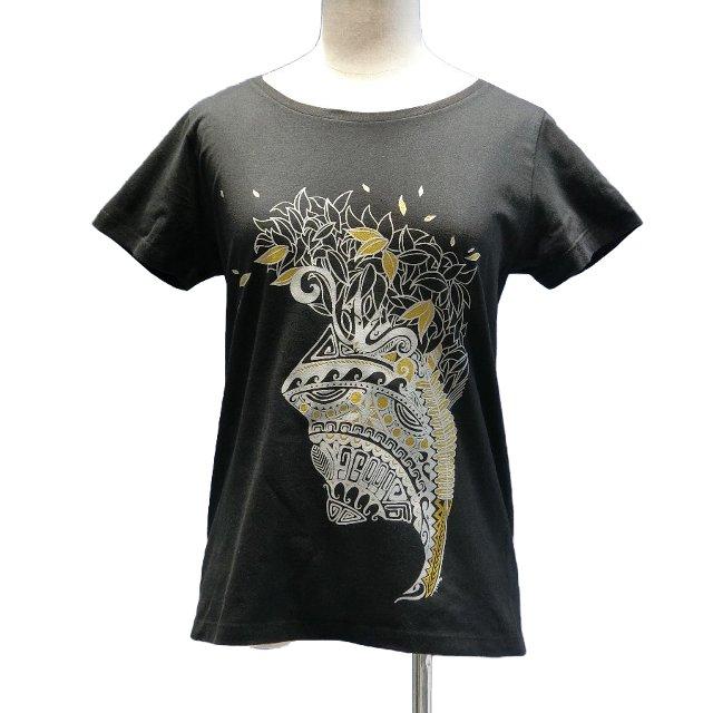フラ&タヒチ オリジナルTシャツ(黒)