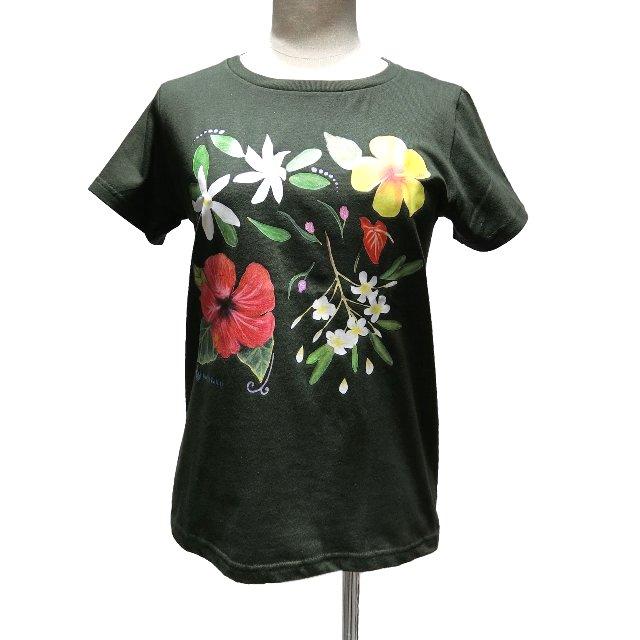 ノアノアTシャツ(フォレストグリーン)