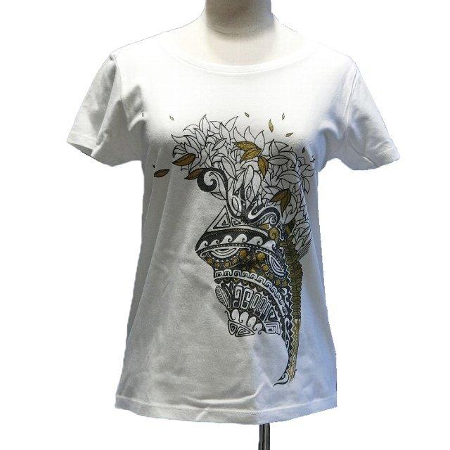 フラ&タヒチ オリジナルTシャツ(白)
