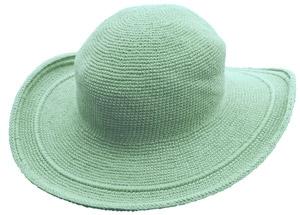 帽子シーフォーム水色