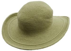 帽子セレリーライトグリーン