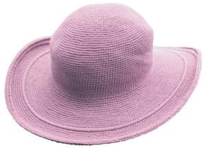 帽子ブラッシュピンク