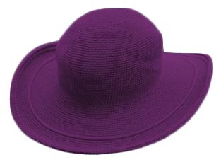 帽子パープル