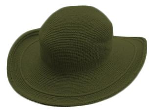 帽子モスグリーン