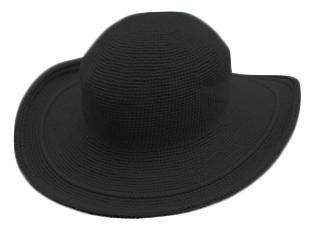 帽子ブラック