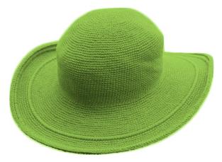 帽子ライトグリーン