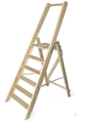 ラダー (はしご) 台つき6段