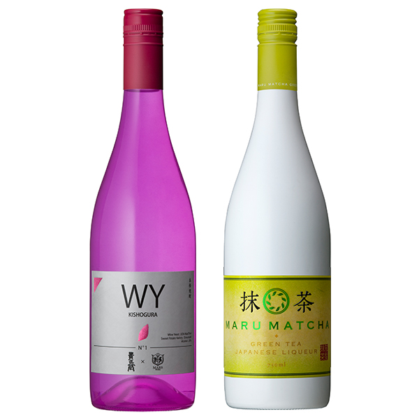 飲み比べセット グラス付き WY KISHOGURA MARU MATCHA 2本 セット 25度 750ml