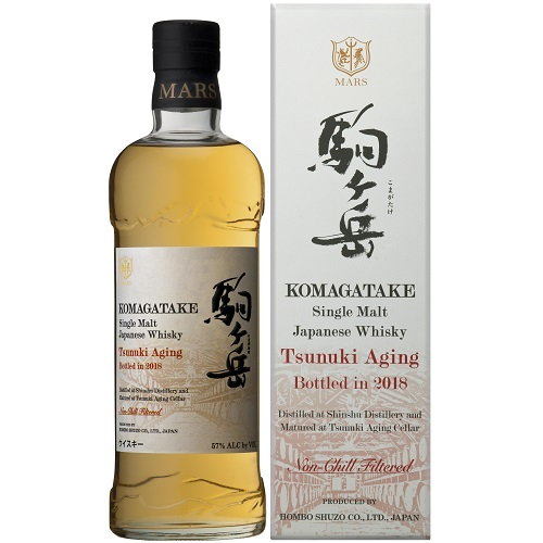 シングルモルト駒ヶ岳 津貫エイジング Bottled in 2018