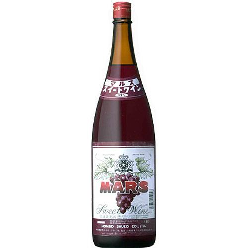 マルス スイートワイン 赤 12度 1800ml