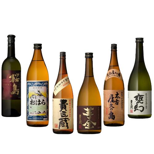 津貫貴匠蔵「本坊龍二」杜氏厳選の焼酎 6本セット