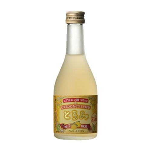 とろみ 柚子梅酒 6度 300ml