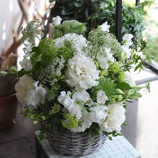 お悔やみの花