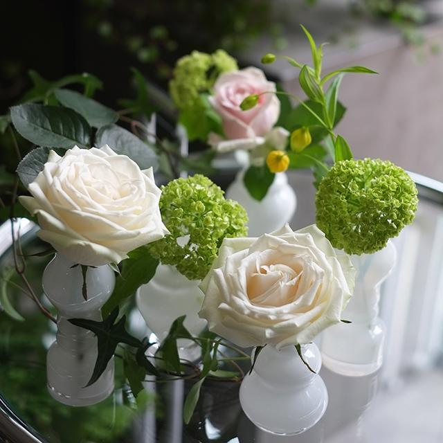 花瓶付きフラワーギフト