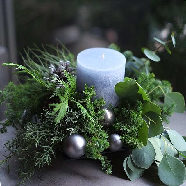 キャンドルアレンジメント|クリスマスアレンジメント|5,000円|1529013