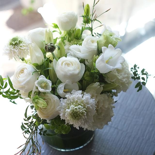 おしゃれなお供え花