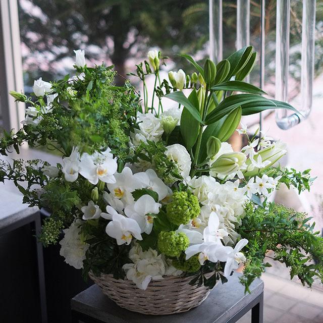 お供え花ナチュラル