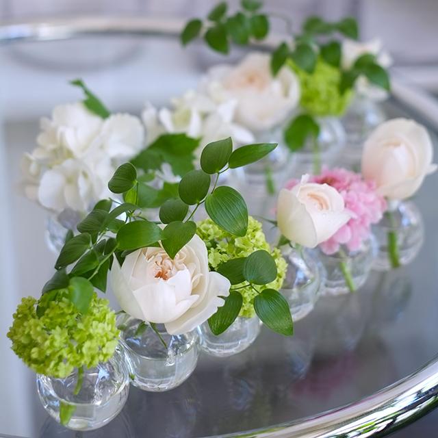 花瓶付きフラワーアレンジメント