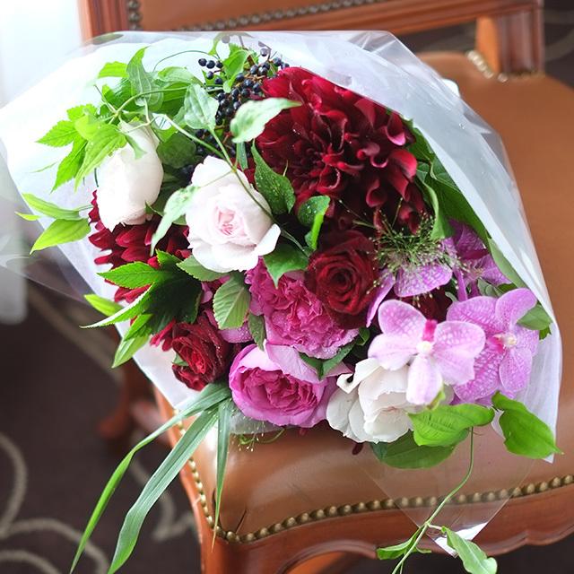 特別な方に贈る花束