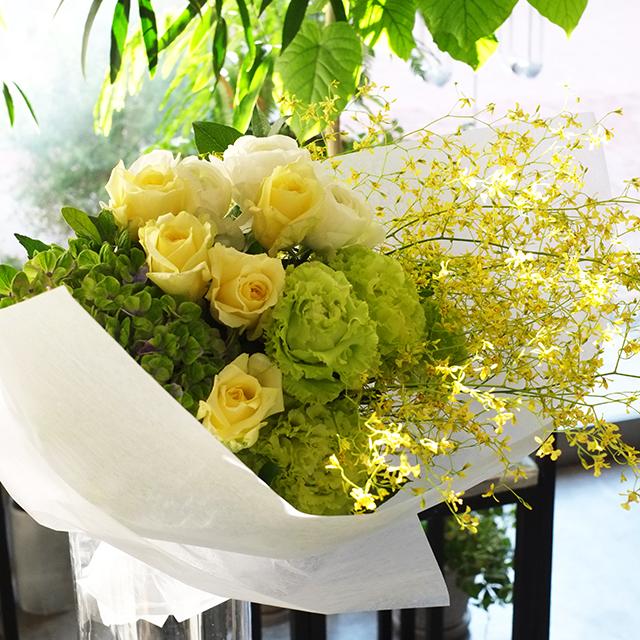 イエロー系花束