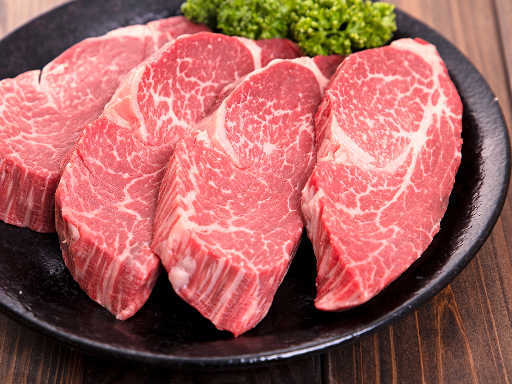 「福島牛」ヒレステーキ用 125g×4枚