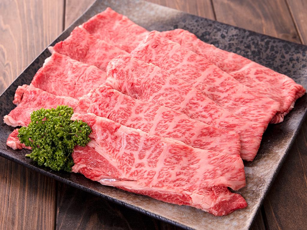 「福島牛」肩ロースすき焼き用 500g