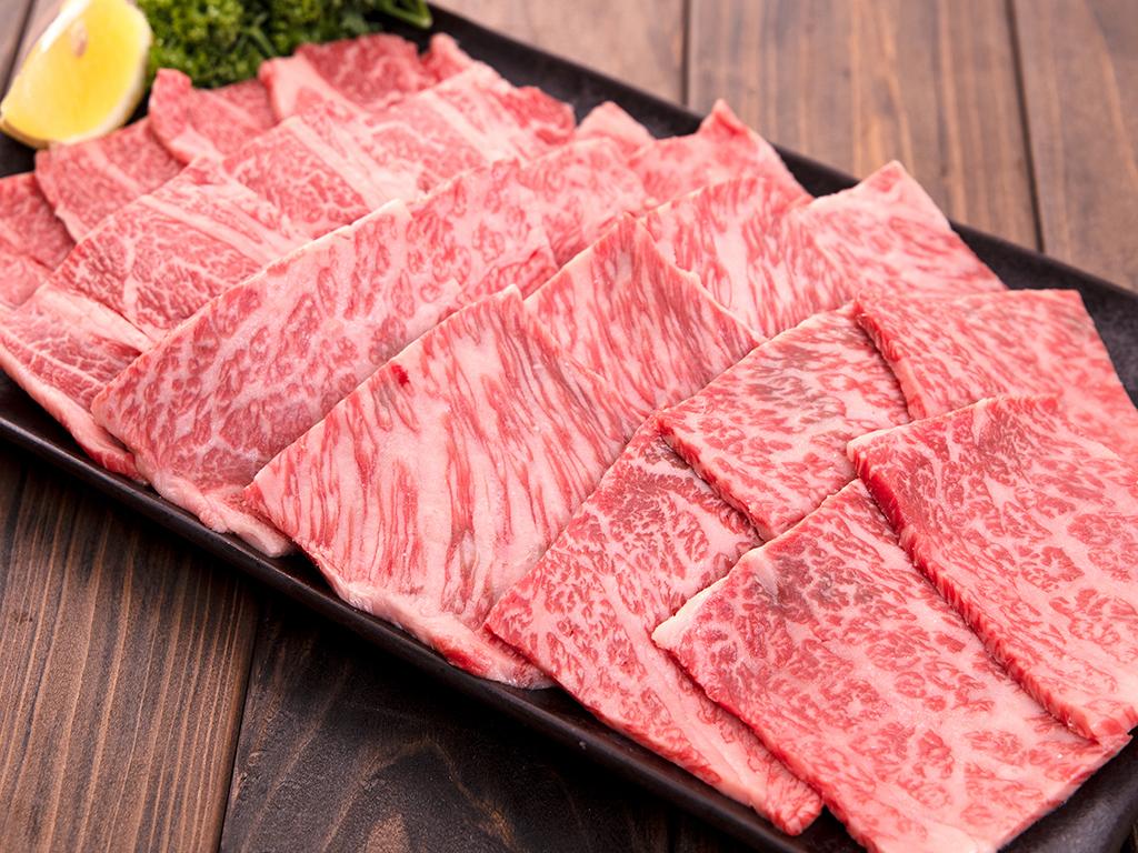 「福島牛」肩ロースカルビ焼肉用 500g