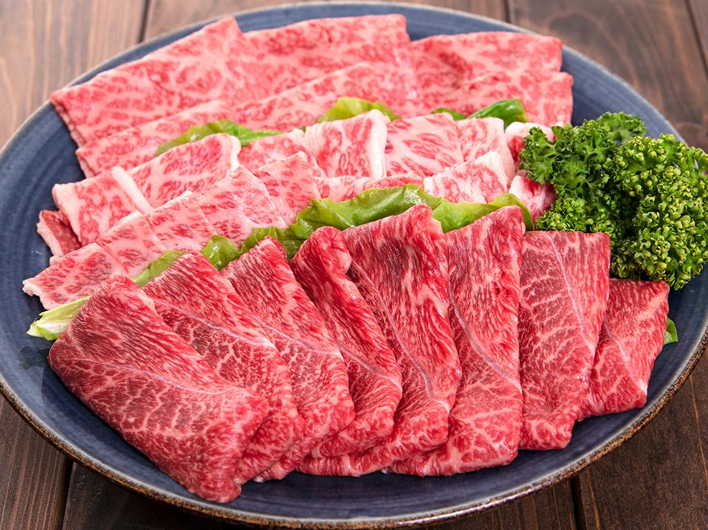 「福島牛」モモ・バラ・肩すき焼用 800g