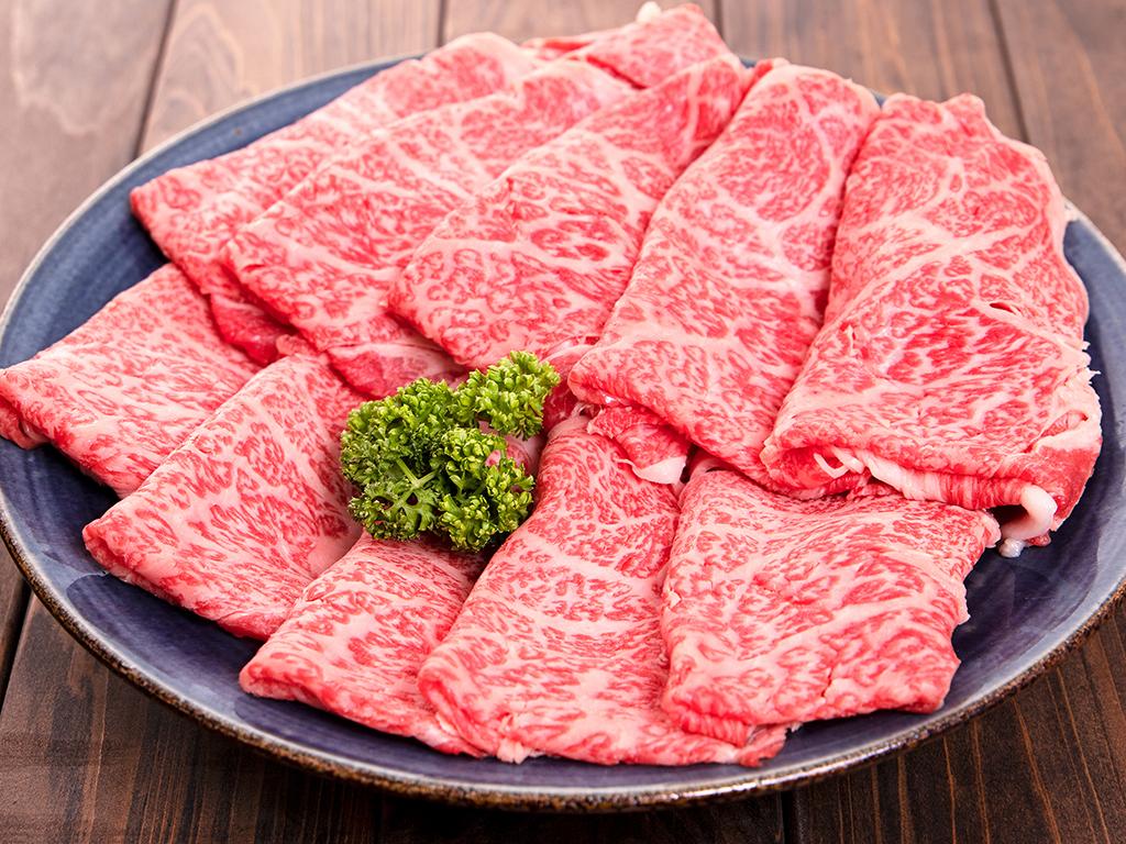 「福島牛」リブロースすき焼き用 700g