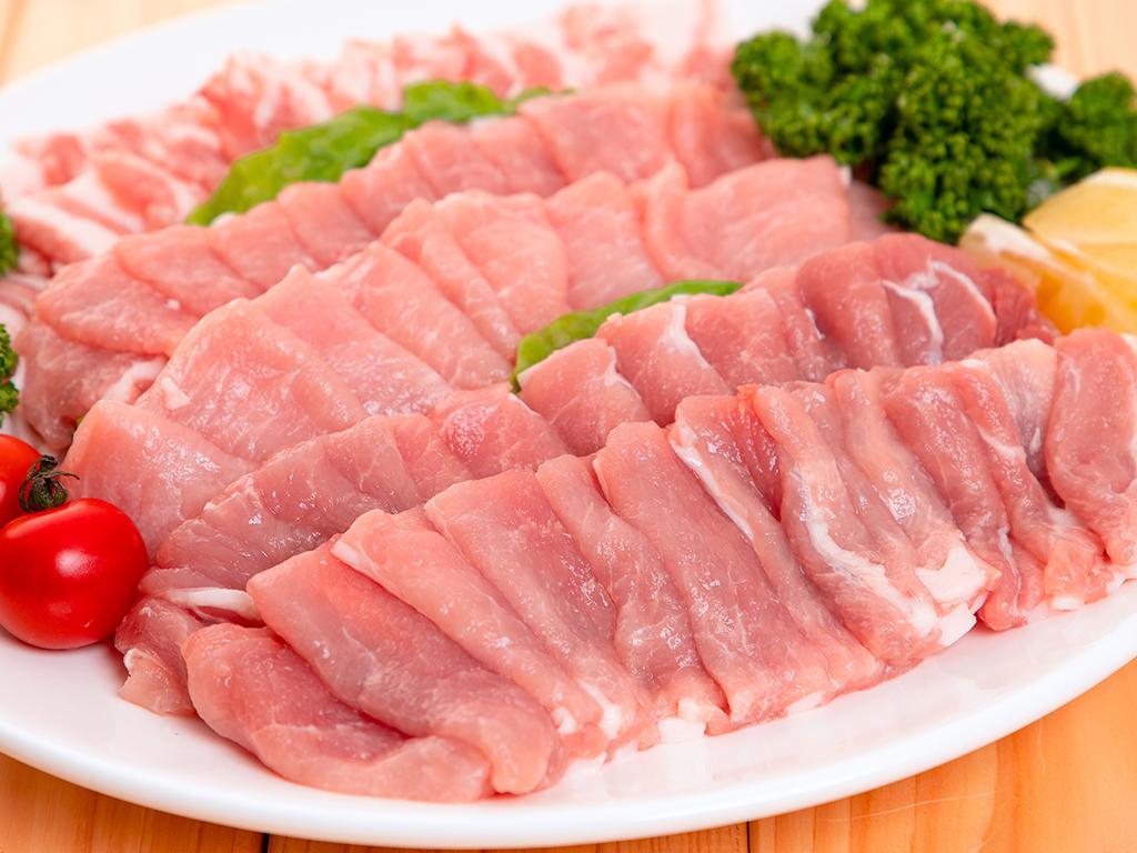 「麓山高原豚」焼肉セット ロース、バラ、モモ 各300g