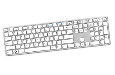 KR-6402 USB Keyboard With The Newest Key Shape