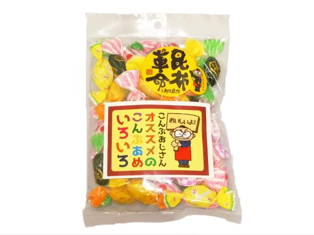 蜂蜜檸檬、生姜、梅、緑茶、小豆、黒糖の六種類があります
