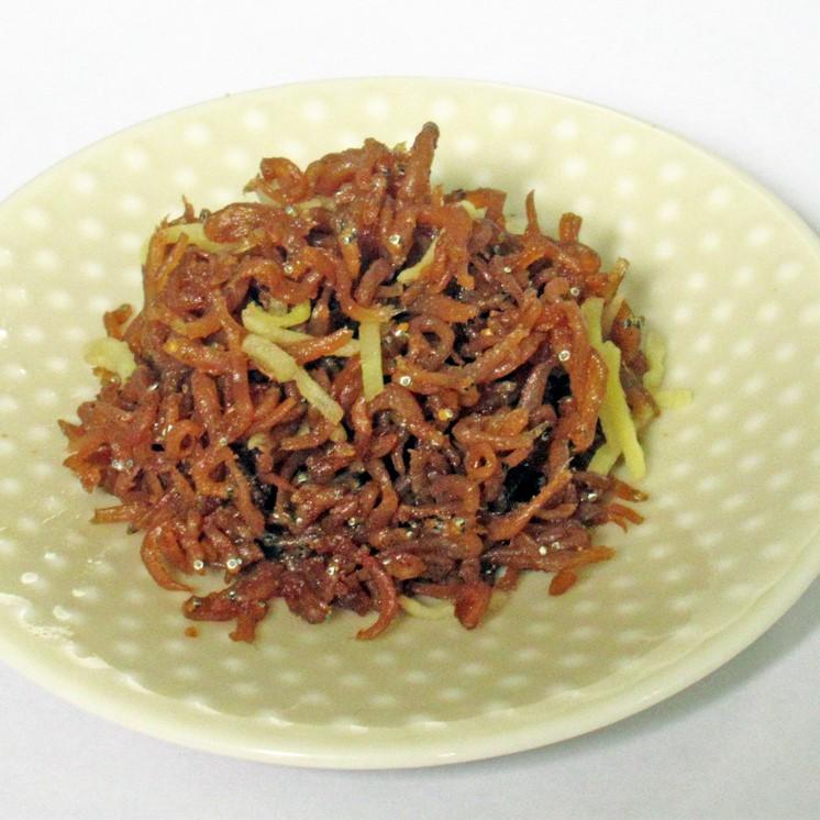 生姜しらす山椒