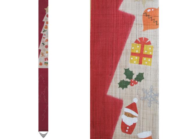【洛柿庵】細タペストリー「クリスマスツリー」