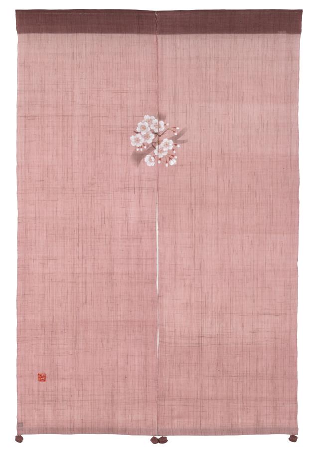 のれん「風音のれん 桜」