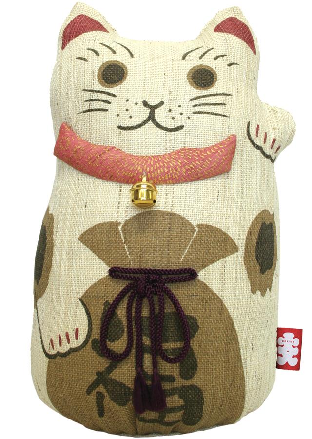 麻人形「招き猫L」