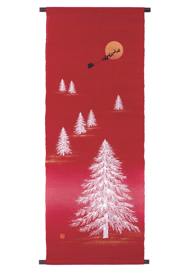 タペストリー「クリスマスイヴ」