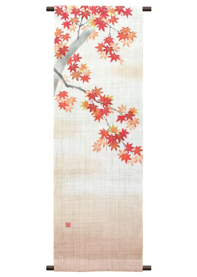タペストリー「紅葉の宴」