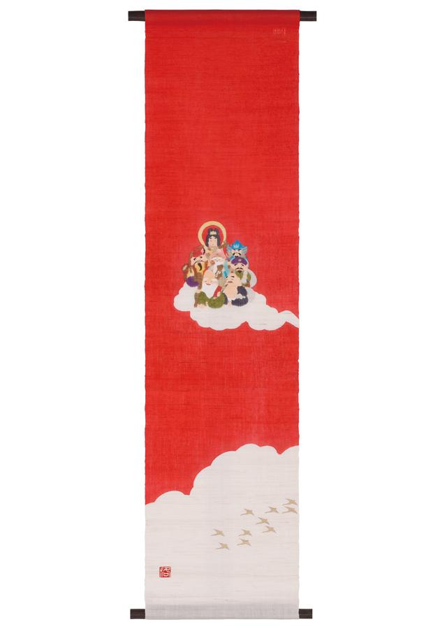 タペストリー「七福神」