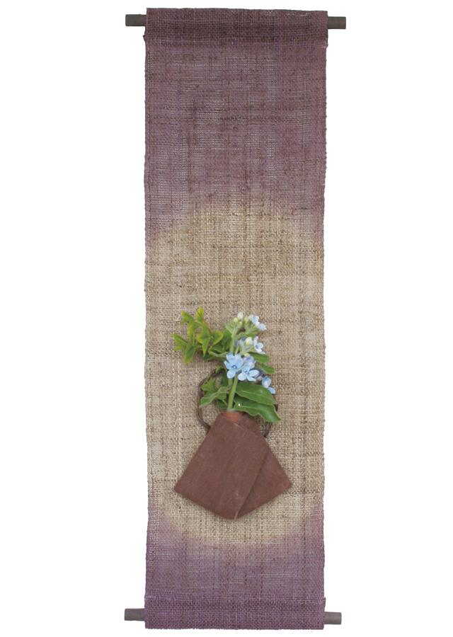 花入れ「柿渋・古代紫」