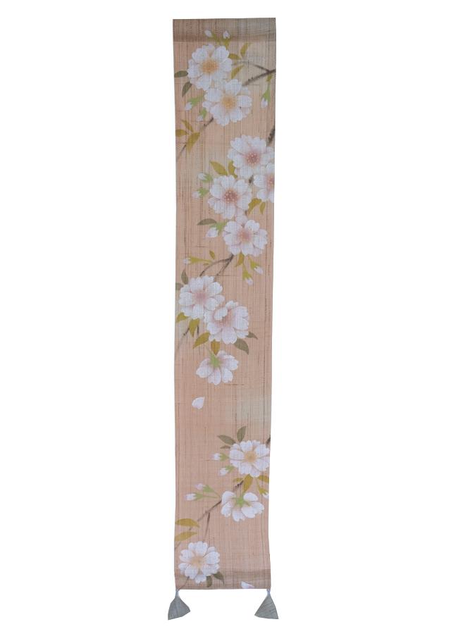 2020年3月21日  日替わり豆タペストリー「八重桜」