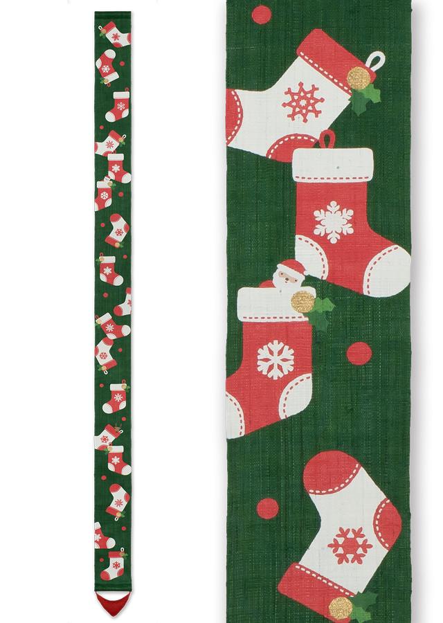 店舗限定細タペストリー「サンタの贈り物」