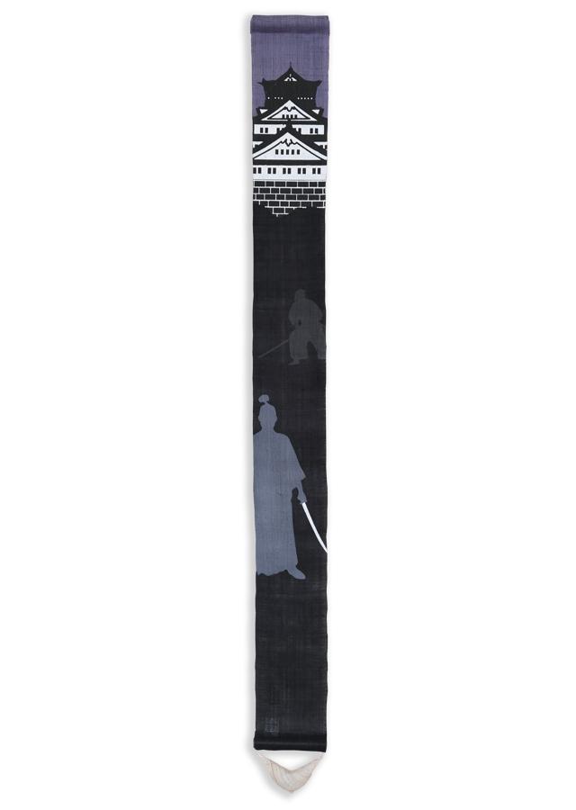 数量限定細タペストリー100cm「SAMURAI」